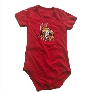 🧚♀️4/$25 Ottawa Senators 12-18 month Onsie